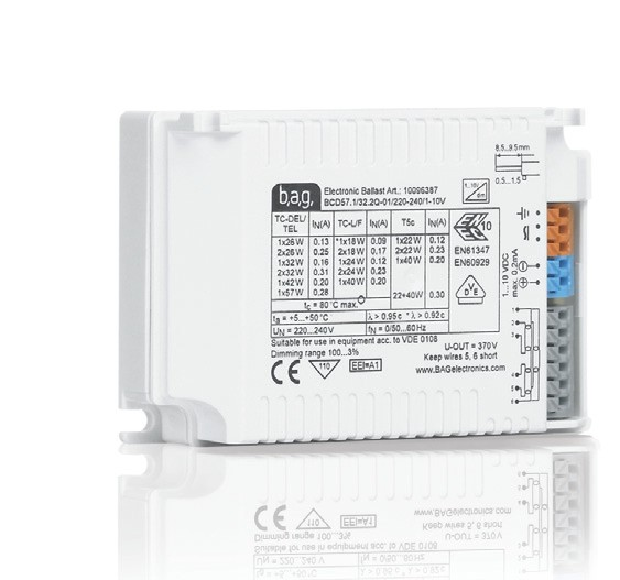 Evg Dimmbar 0 10v dimmbare 1 10v evg elektronische vorschaltgeräte für t5