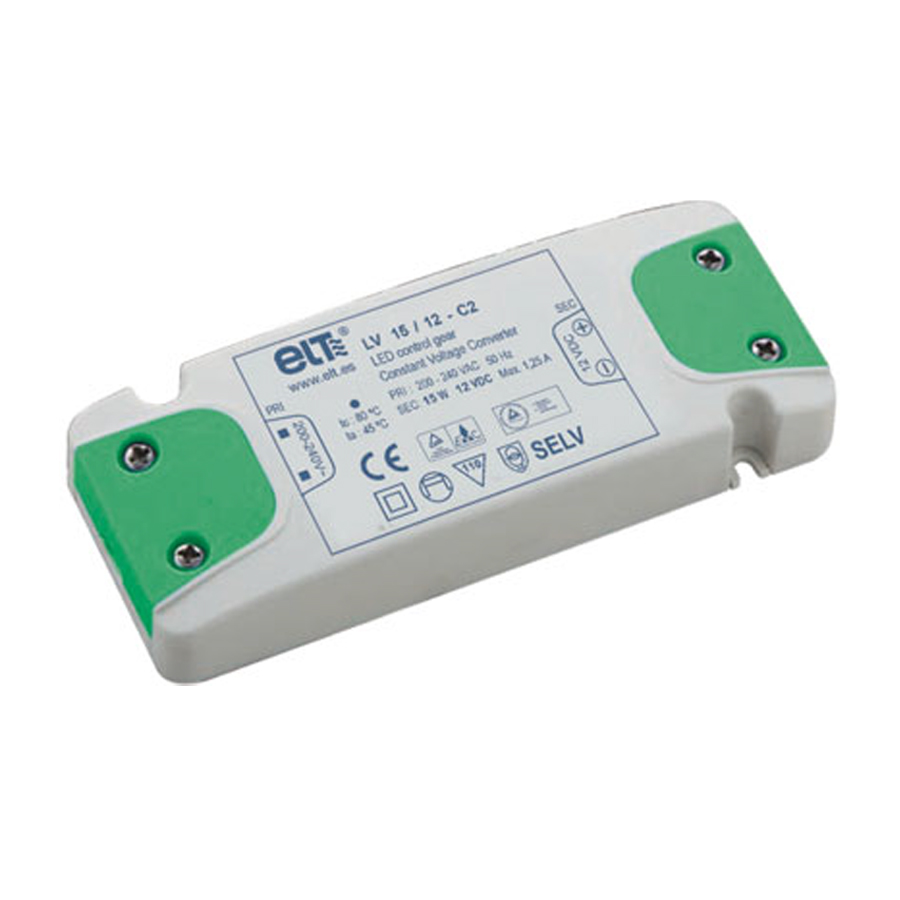 LEDfux LED Trafo Netzteil 12 V//DC 75 Watt IP20 Ausgangsspannung regulierbar