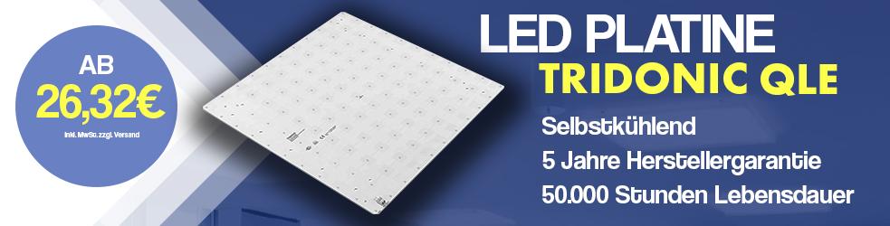 LED Platine Tridonic QLE